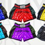 Muay Thai Shorts Carbon